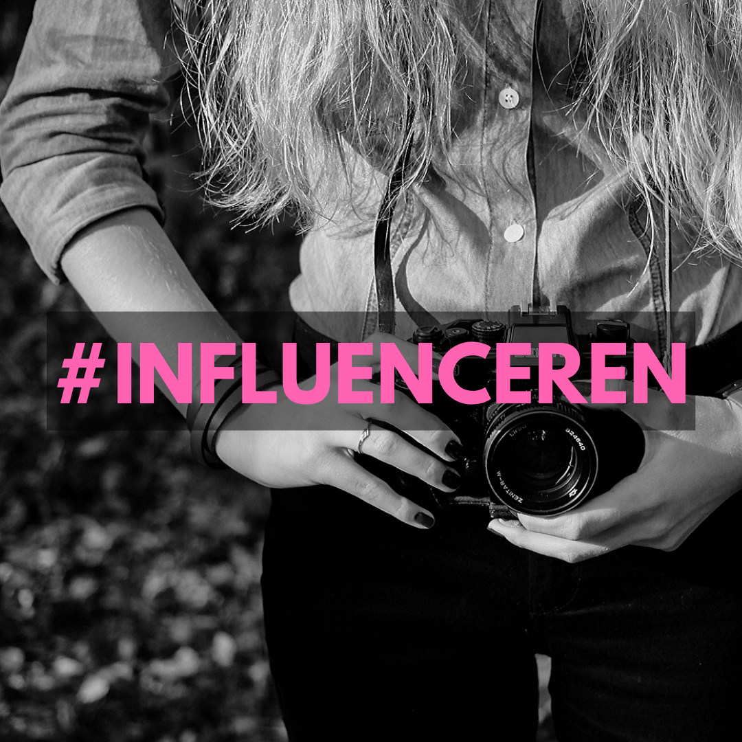 INFLUENCER INZETTEN